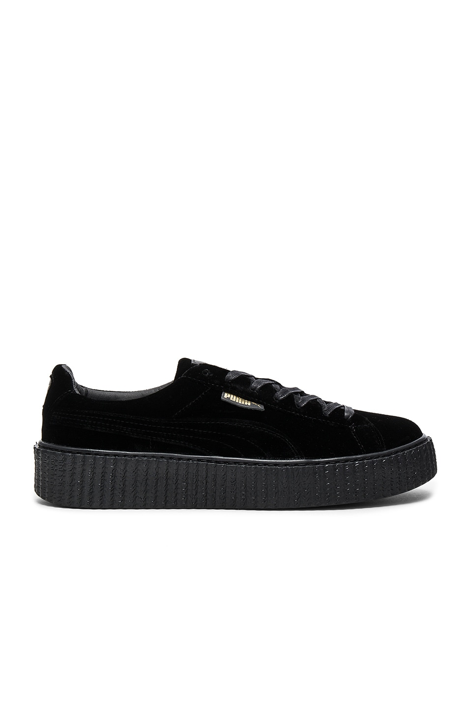 Fenty by Puma Velvet Creepers in Puma Black