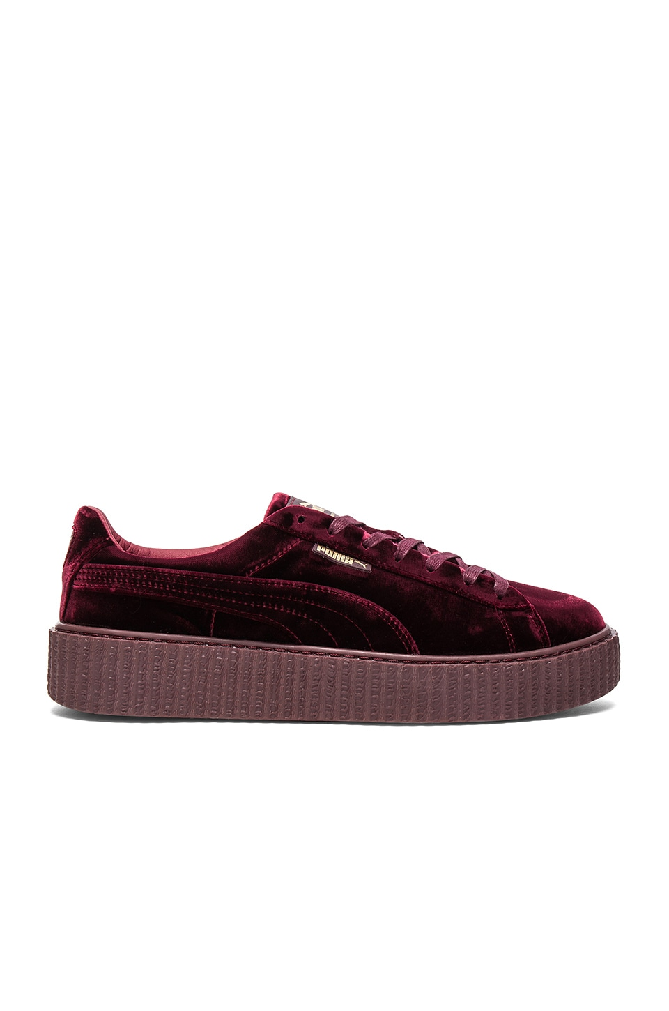 Fenty by Puma Velvet Creepers in Royal Purple