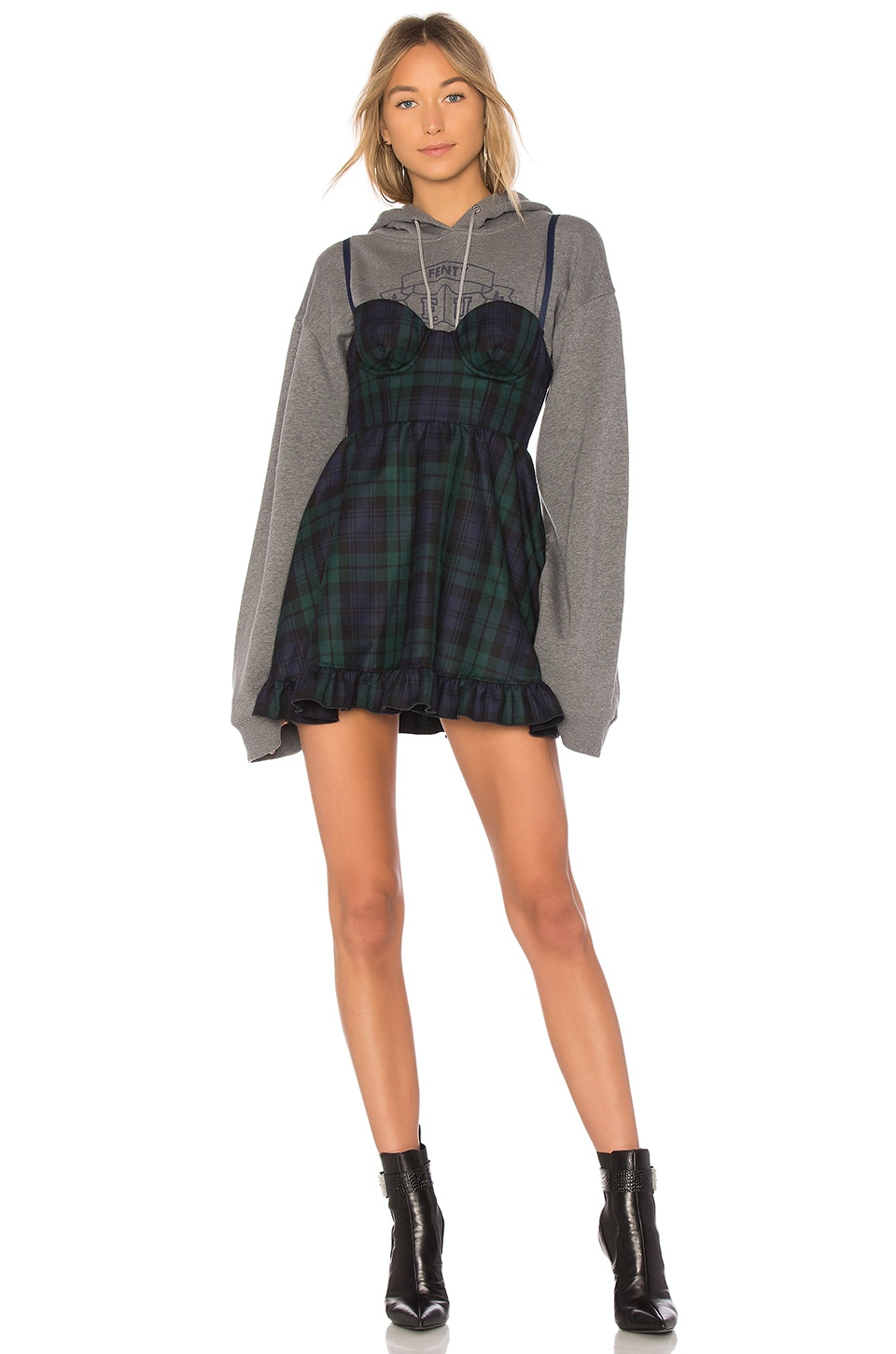 Sweatshirt Mini Dress by Fenty by Puma