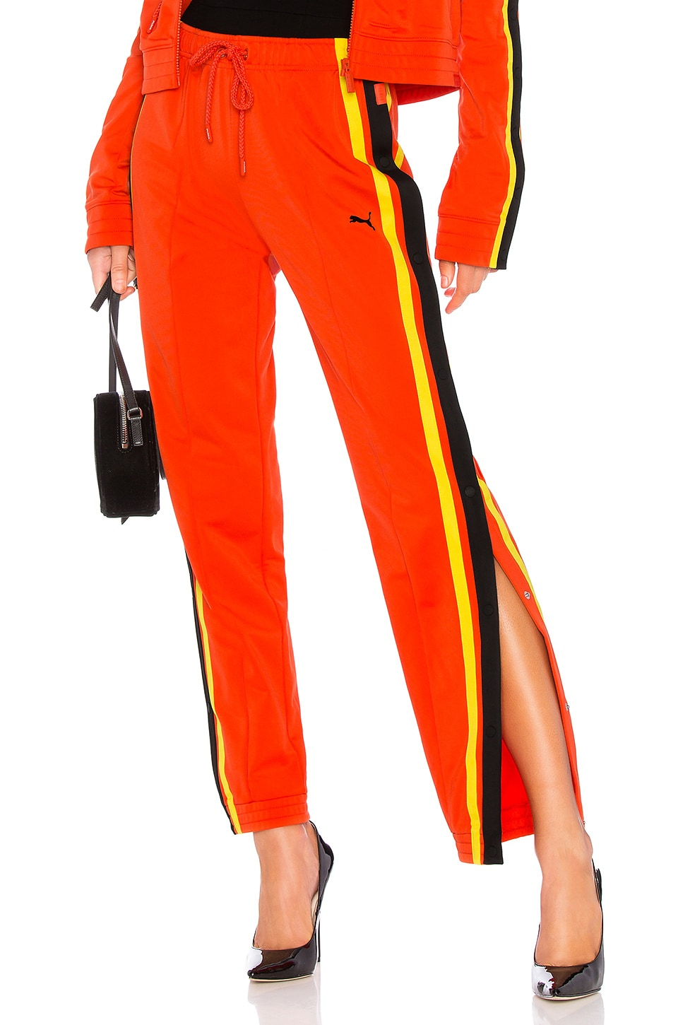 Tearaway Track Pants, Red