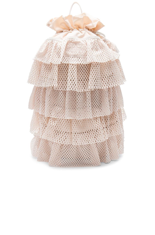 Layered Drawstring Backpack by Fenty By Puma