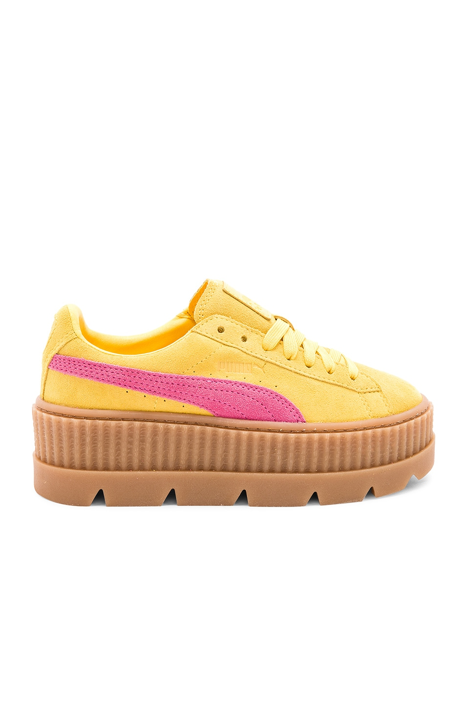 Cleated Suede Creeper by Fenty by Puma