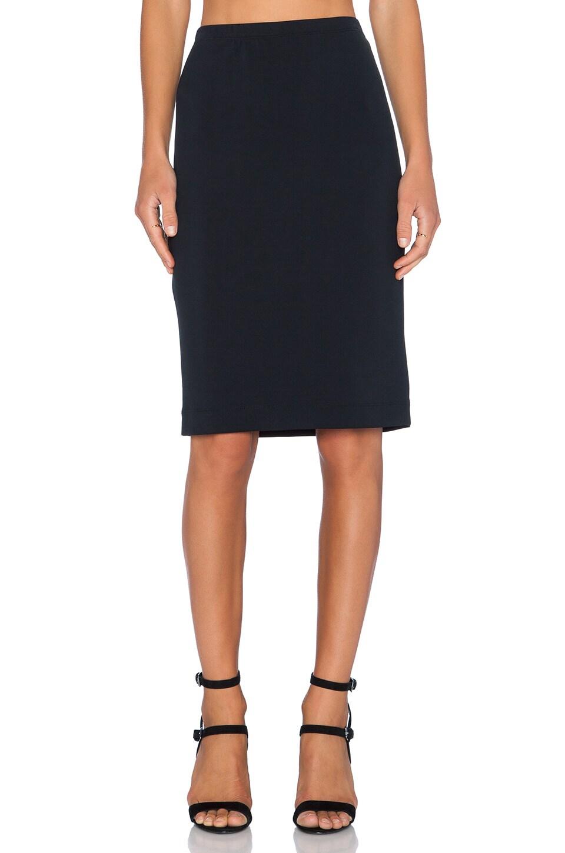 2703eadb38 Fifteen Twenty Scuba Pencil Skirt in Black | REVOLVE