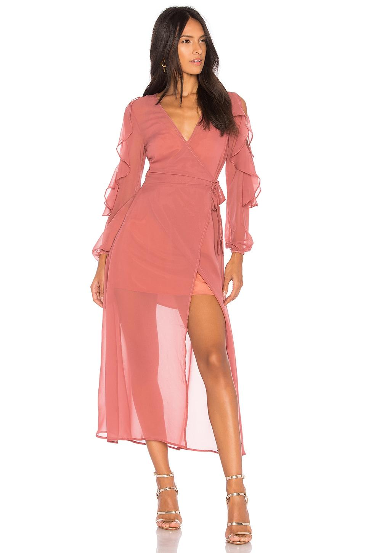 Brushstrokes Maxi Dress