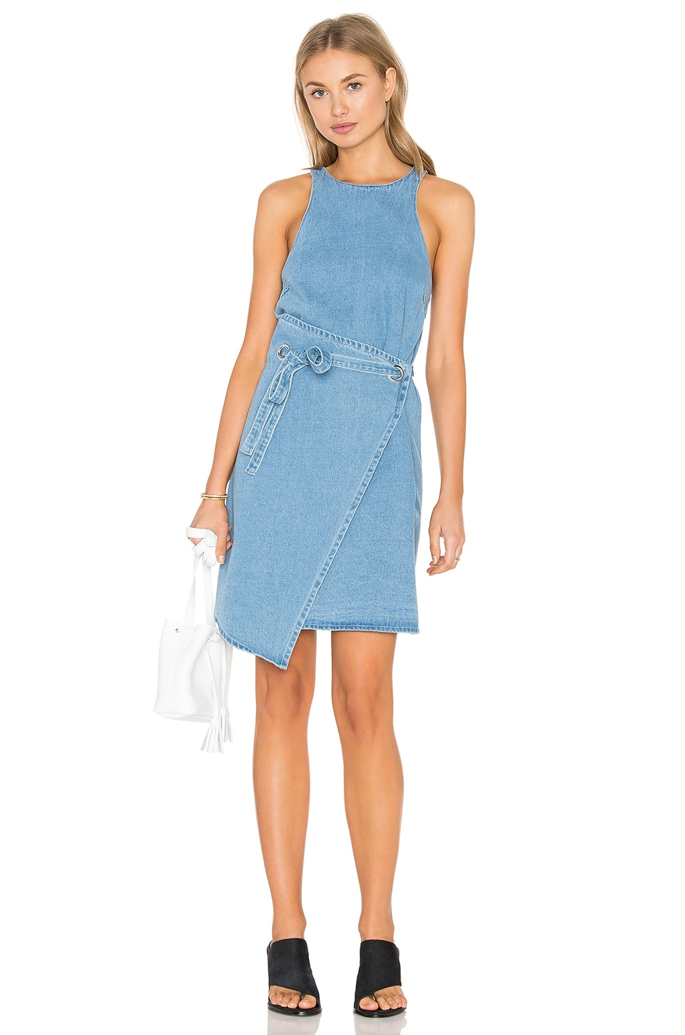 The Fifth Label First Light Dress in Washed Denim