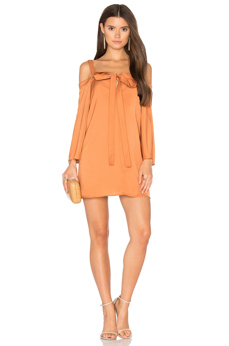In Full Light Long Sleeve Dress by The Fifth Label