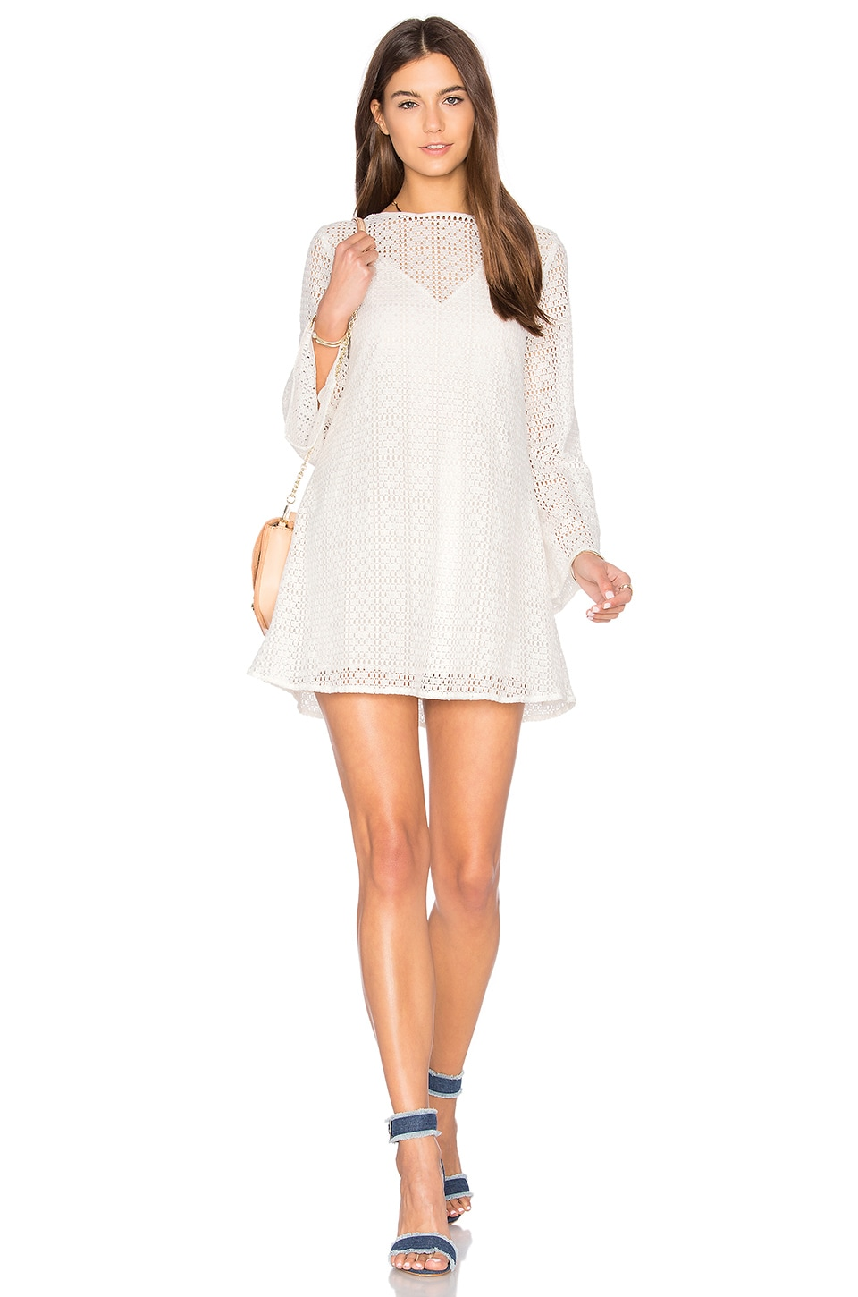 The Fifth Label Tune In Dress in White