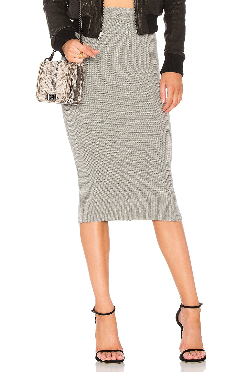 The Fifth Label Galactic Skirt in Grey Marle