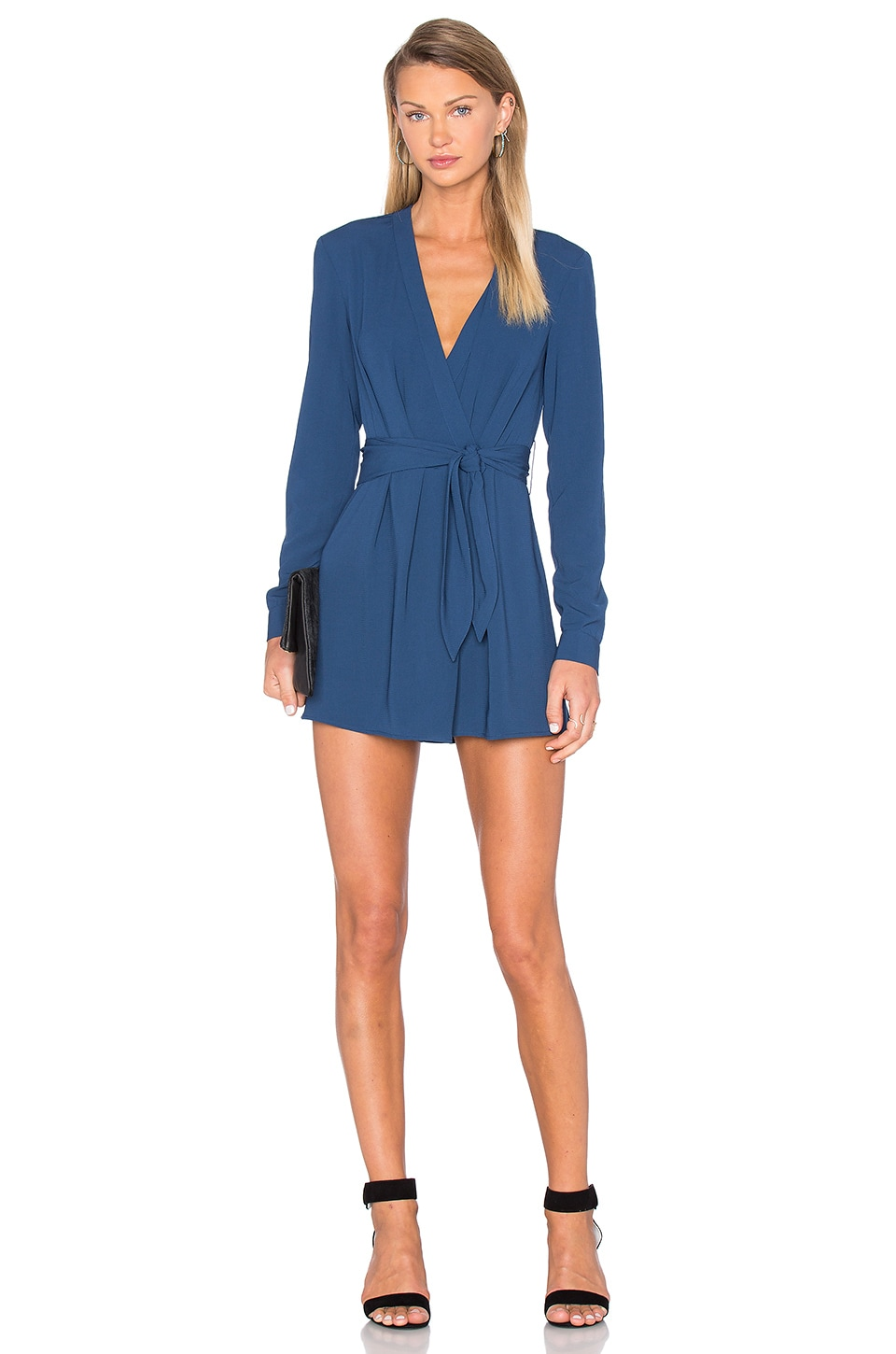 The Fifth Label Above & Beyond Playsuit in Petrol Blue