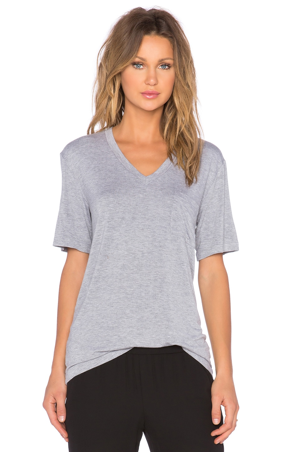 The Fifth Label Here Comes The Sun T-Shirt in Grey Marle