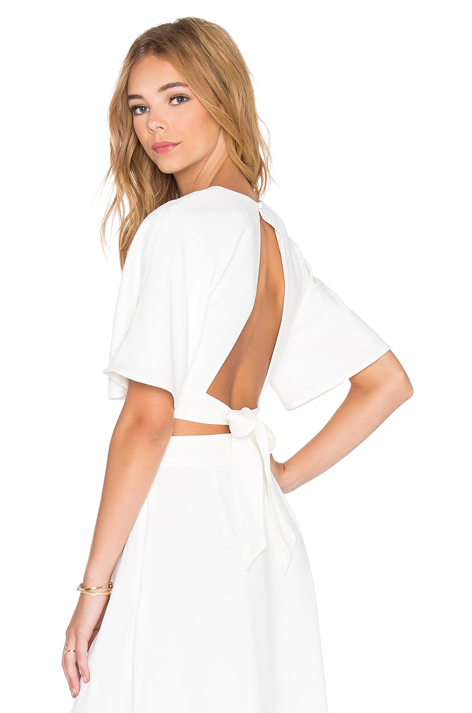 The Fifth Label Modern Love Top in Ivory