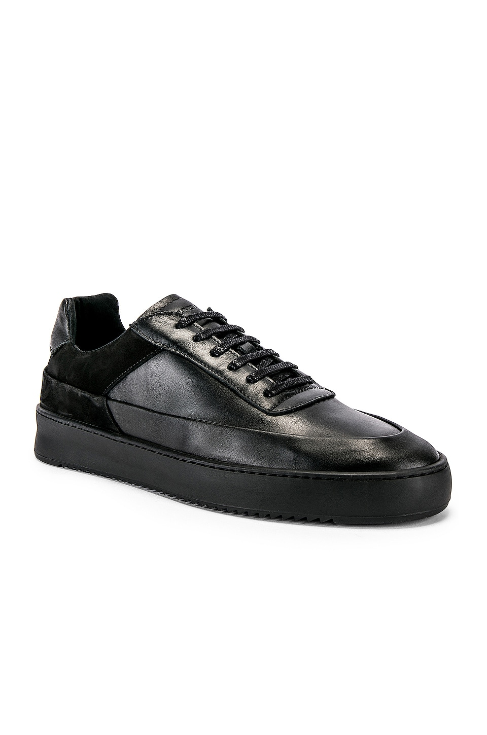 Filling Pieces Shift Sneaker in All Black