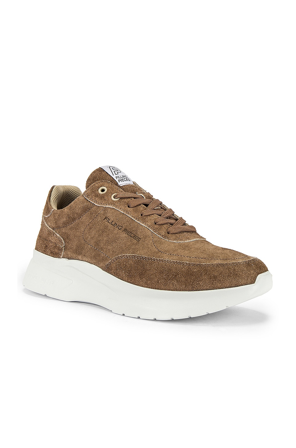 Filling Pieces Runner Sneaker in Taupe