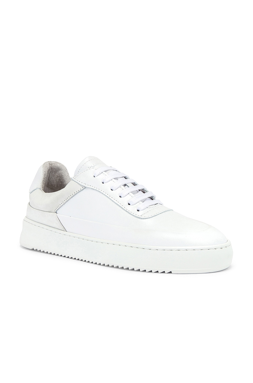 Filling Pieces Shift Sneaker in All White