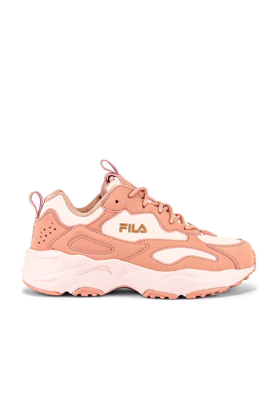 Fila Ray Tracer in Dusty Pink, Spanish Villa & Silver Pink