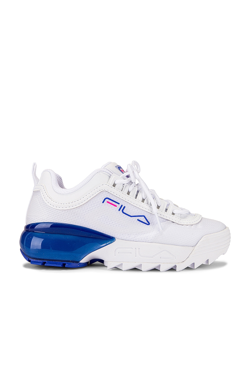 fila blue and white sneakers