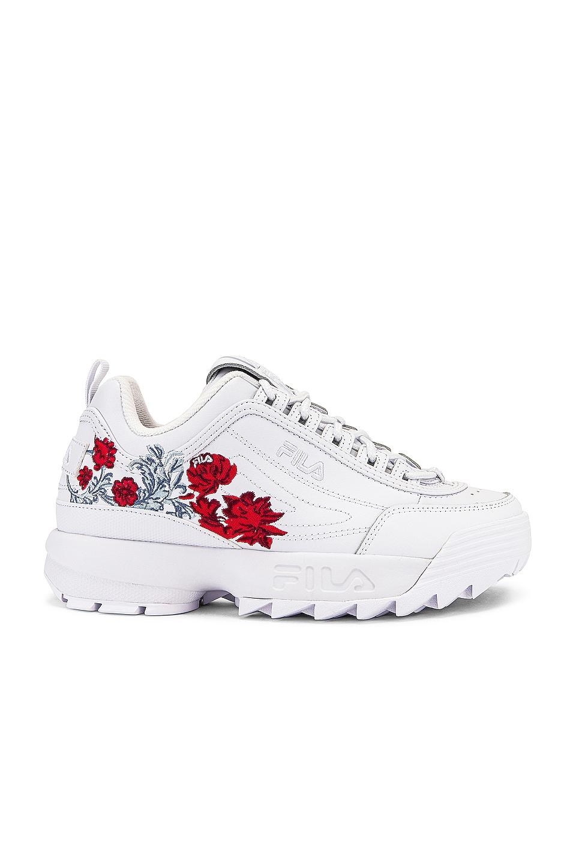 Fila Disruptor II Flower Sneaker in