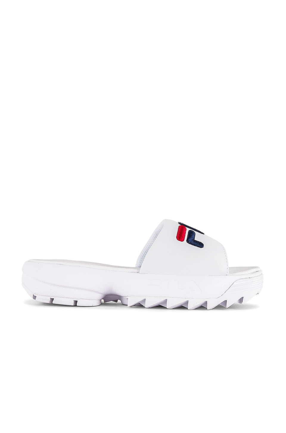 Fila Disruptor Bold Slide in White
