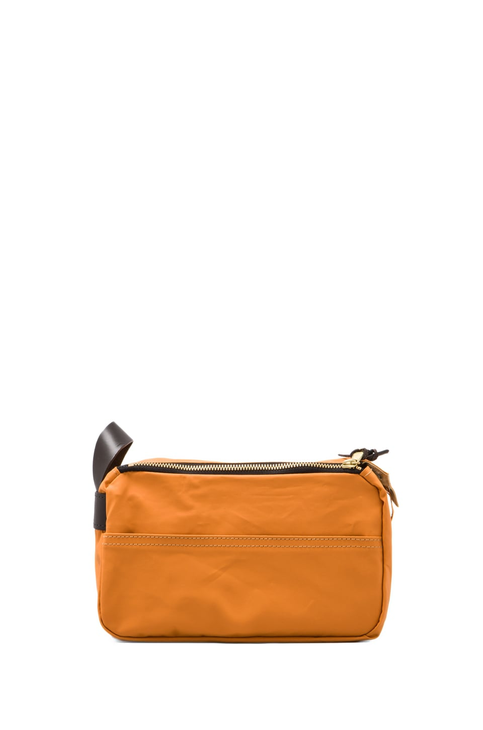 Filson 2-Zip Travel Kit in Russet Orange