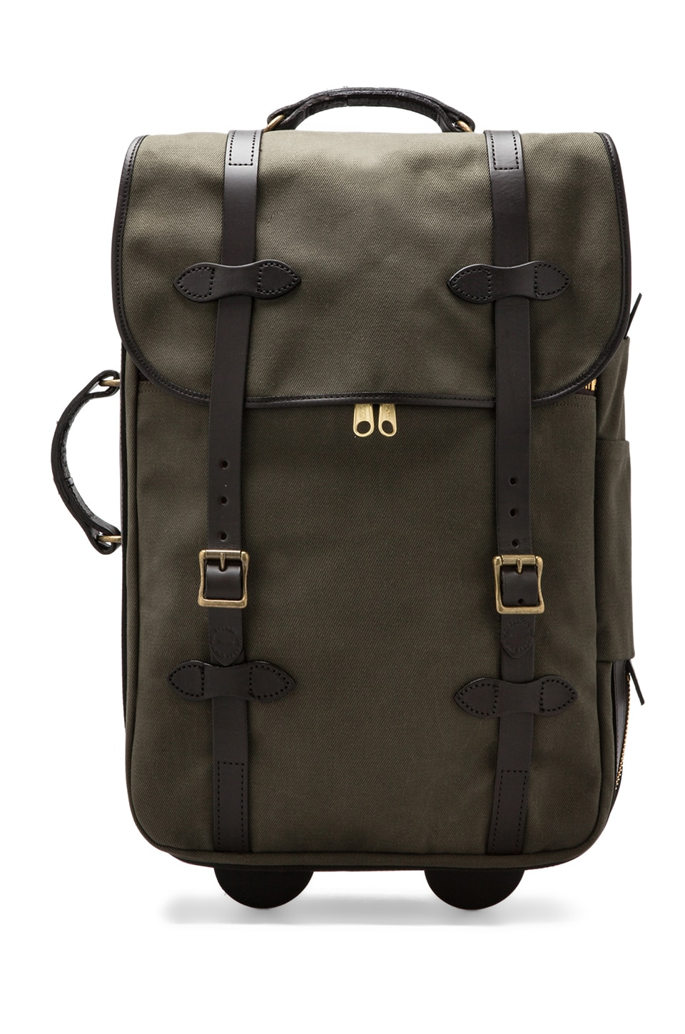 Filson Wheeled Carry-On en Vert Loutre