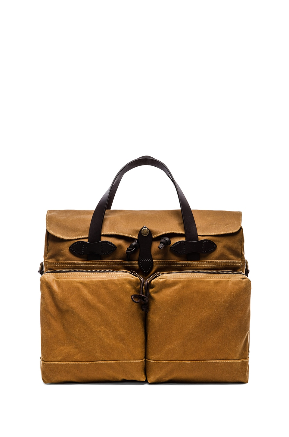 Filson 72 Hr Tin Cloth Briefcase in Tan