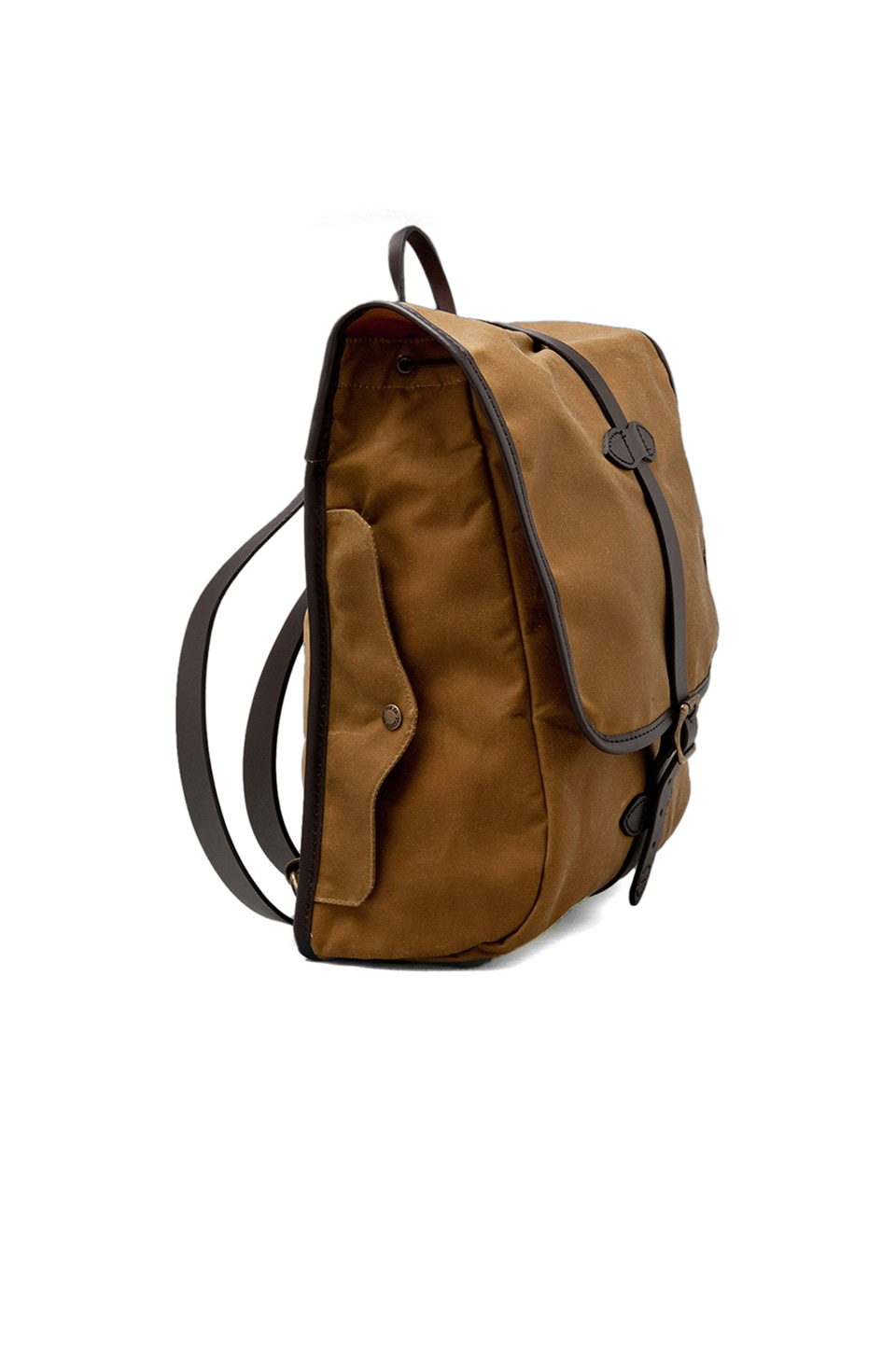 Filson Tin Cloth Backpack in Tan