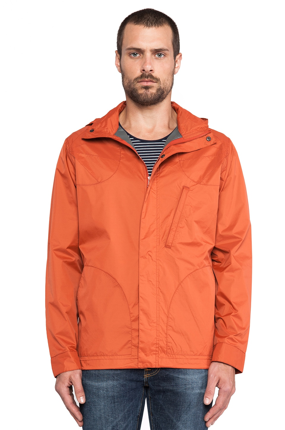Filson Packable Selway Jacket in Sun Orange