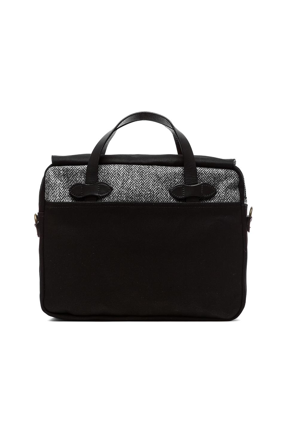 Filson Twill & Tweed Original Breifcase in Black