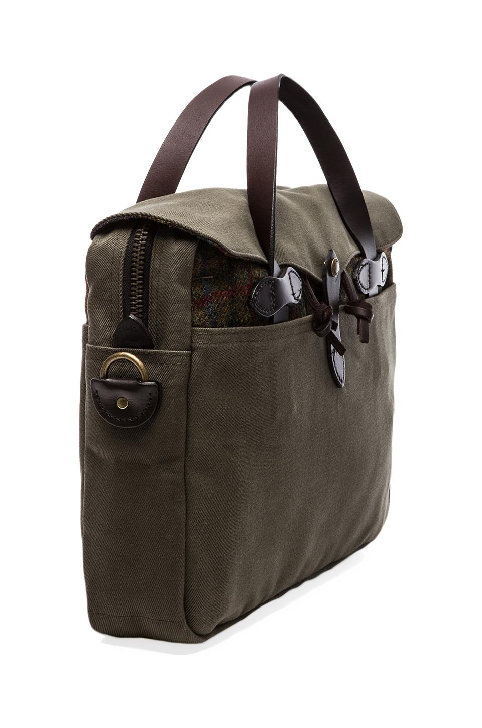 Filson Twill & Tweed Original Breifcase in Otter Green