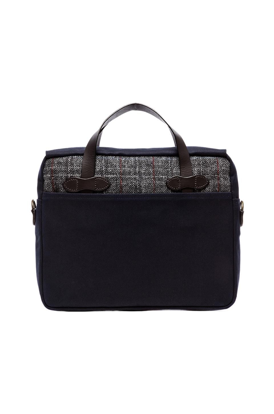 Filson Twill & Tweed Original Briefcase in Navy