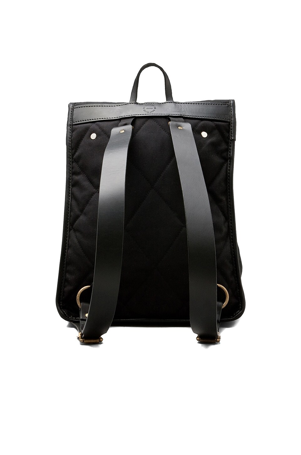 Filson Tin Cloth Backpack in Black
