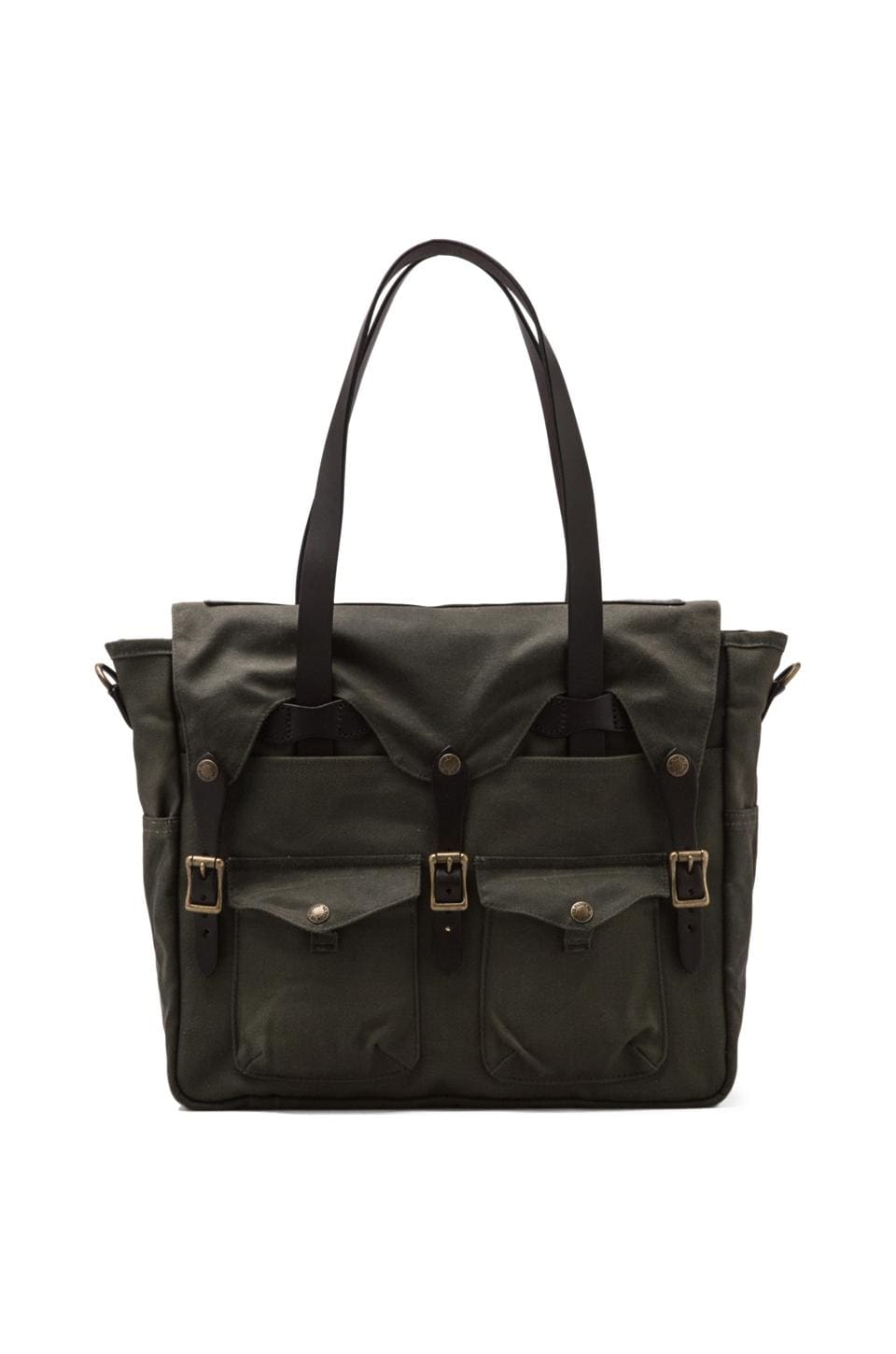 Filson Tote Briefcase in Otter Green/ Otter Green