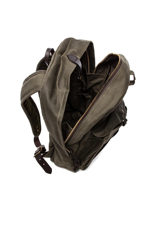 Filson Twill Backpack in Otter Green/ Otter Green