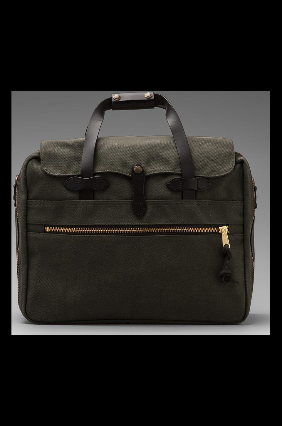 Filson Large Twill Carry-On Travel in Otter Green