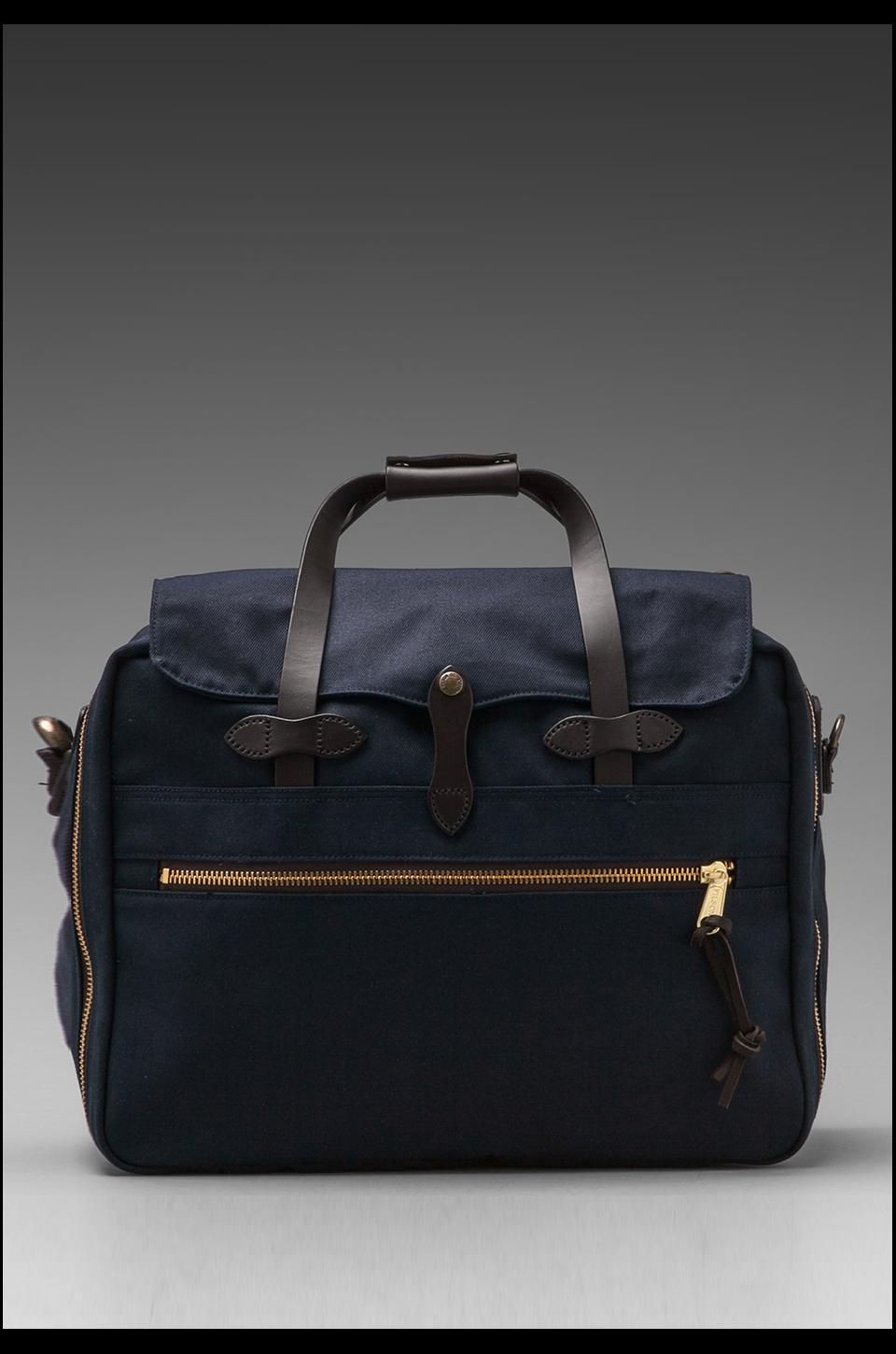 Filson Large Twill Carry-On Travel in Navy