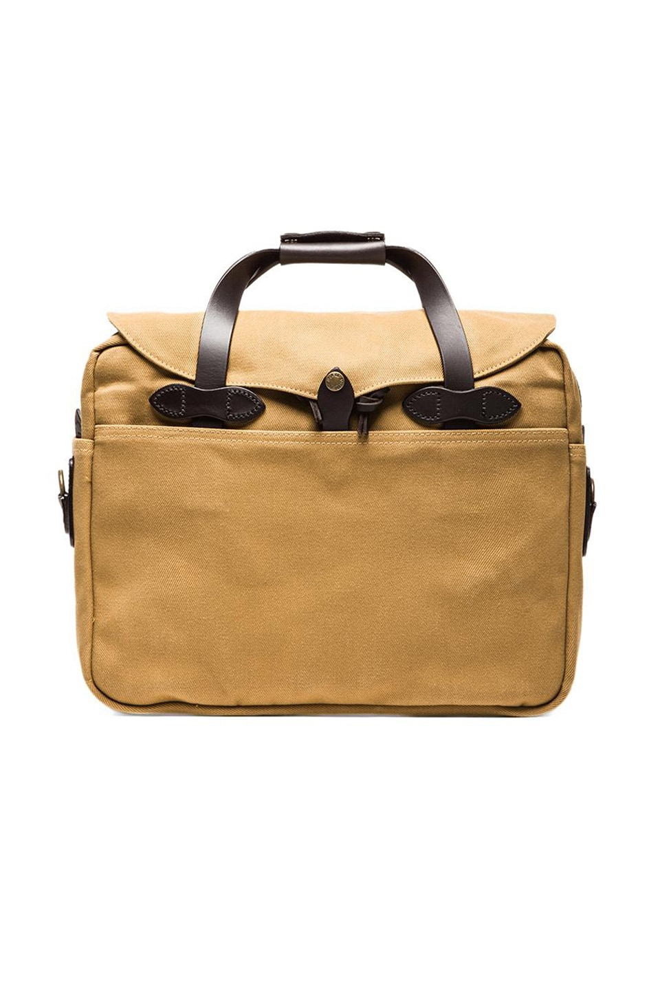 Filson Briefcase Computer Bag en Dark Tan