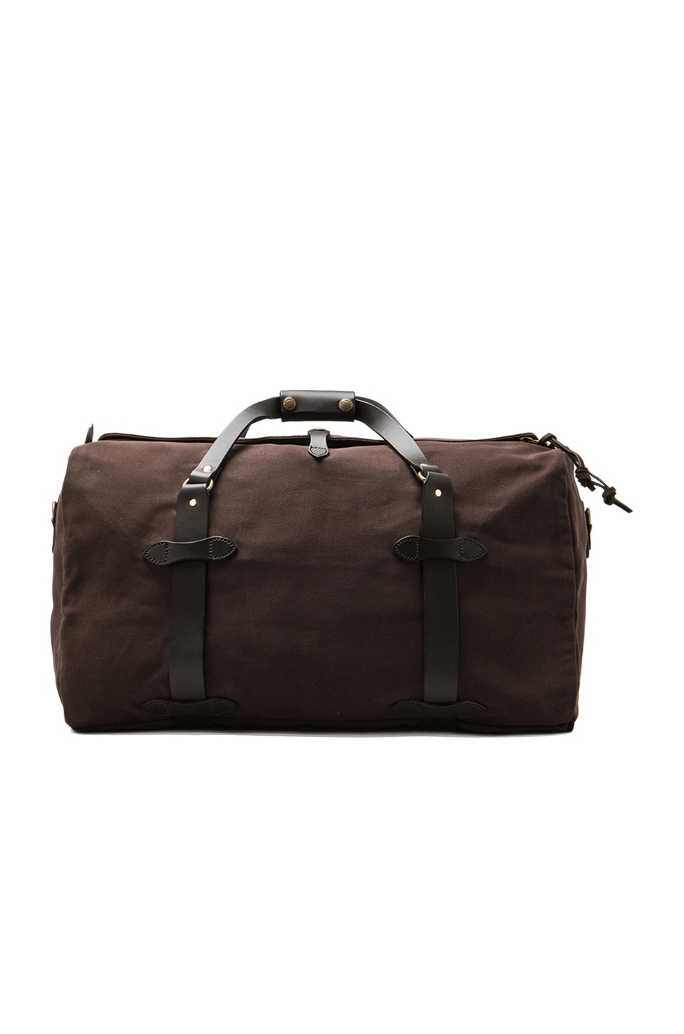 Filson Medium Duffle in Brown