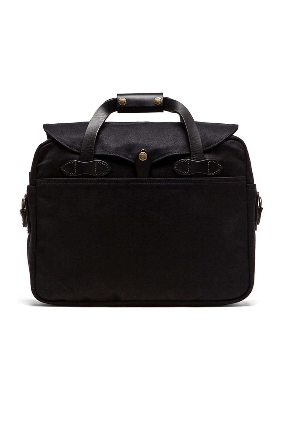 Filson Briefcase Computer Bag in Black