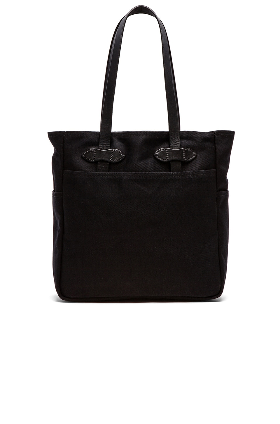 Filson Open Tote Bag in Black