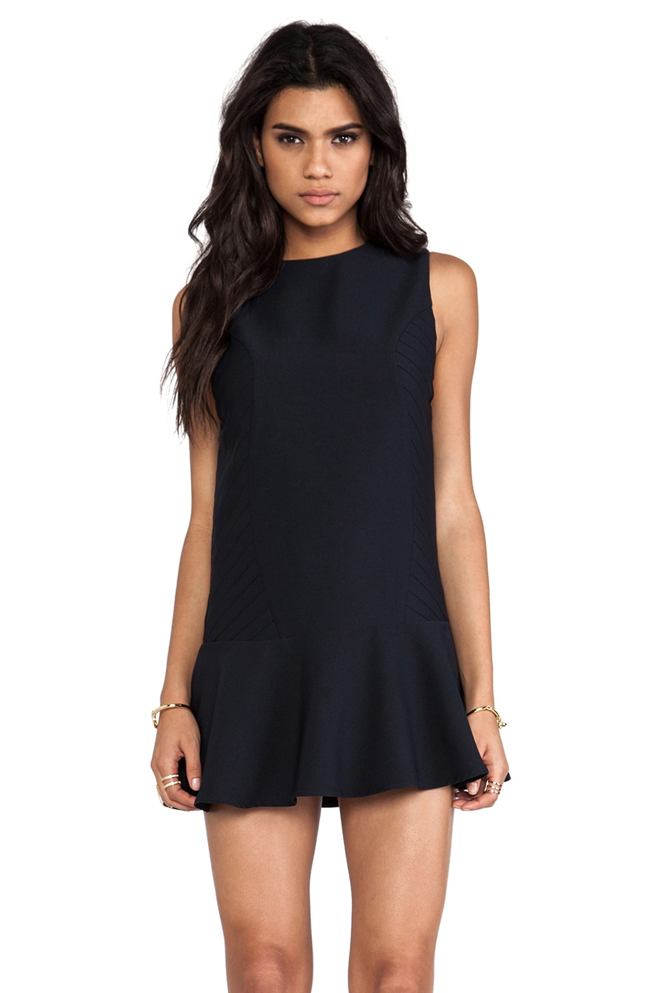 Finders Keepers Retrograde Dress in Navy