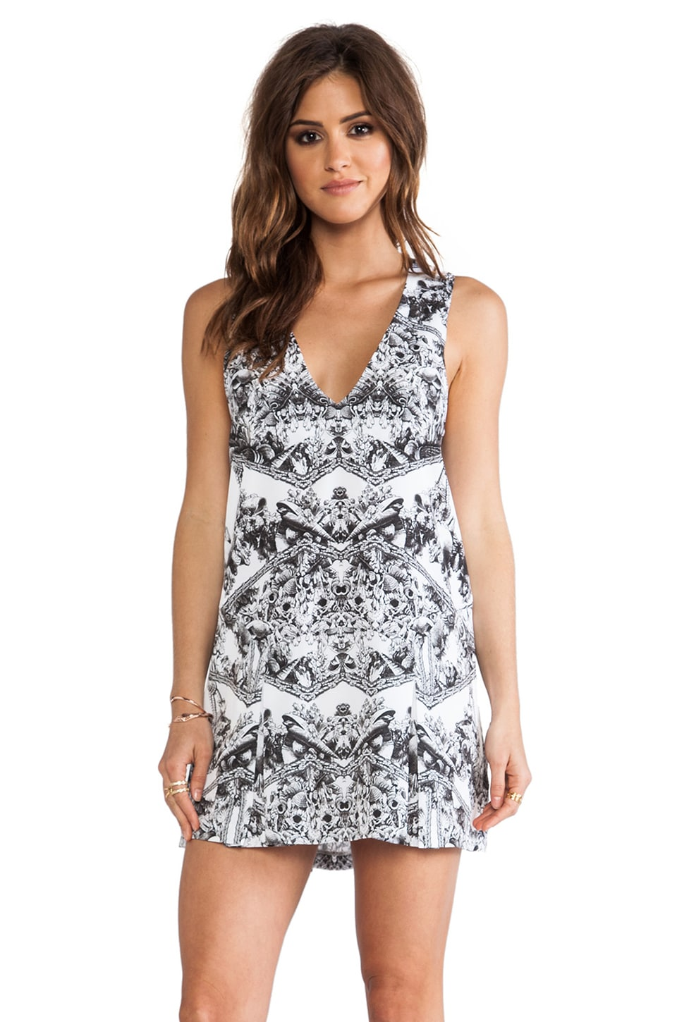 Finders Keepers Here Comes the Sun Dress in Shell Print