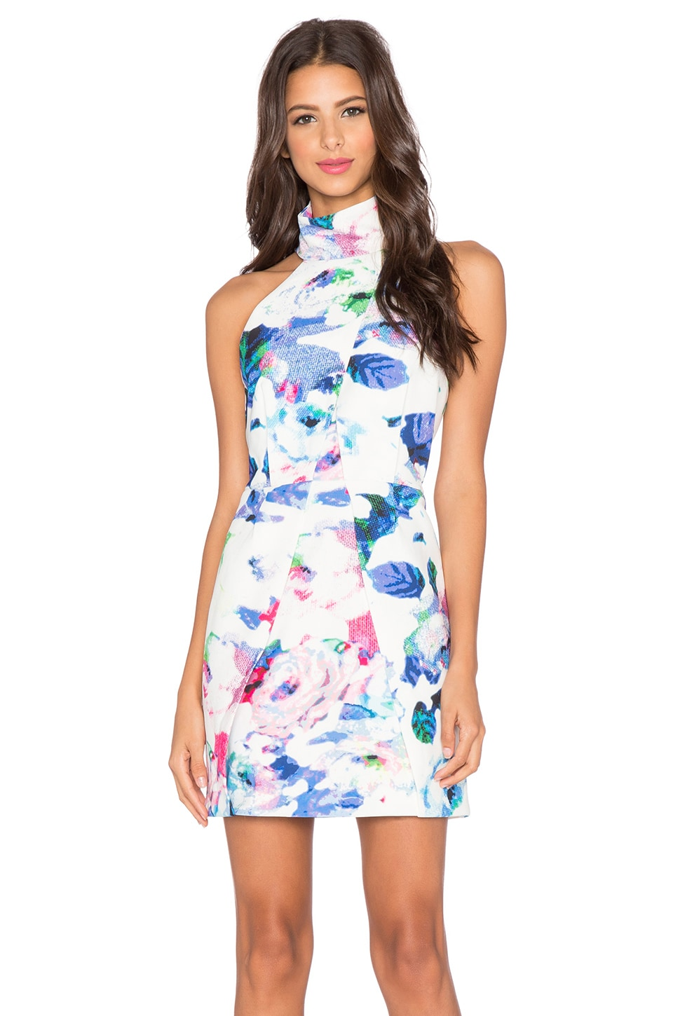 Finders Keepers Slow Goodbye Dress in Floral Light