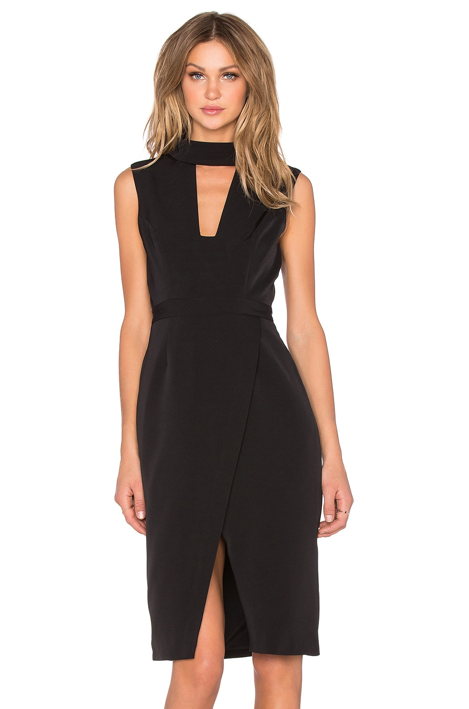 Finders Keepers Divine Eternal Midi Dress in Black