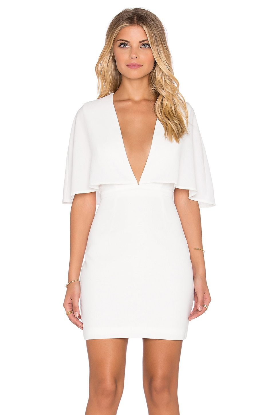 Finders Keepers Natural History Dress in White