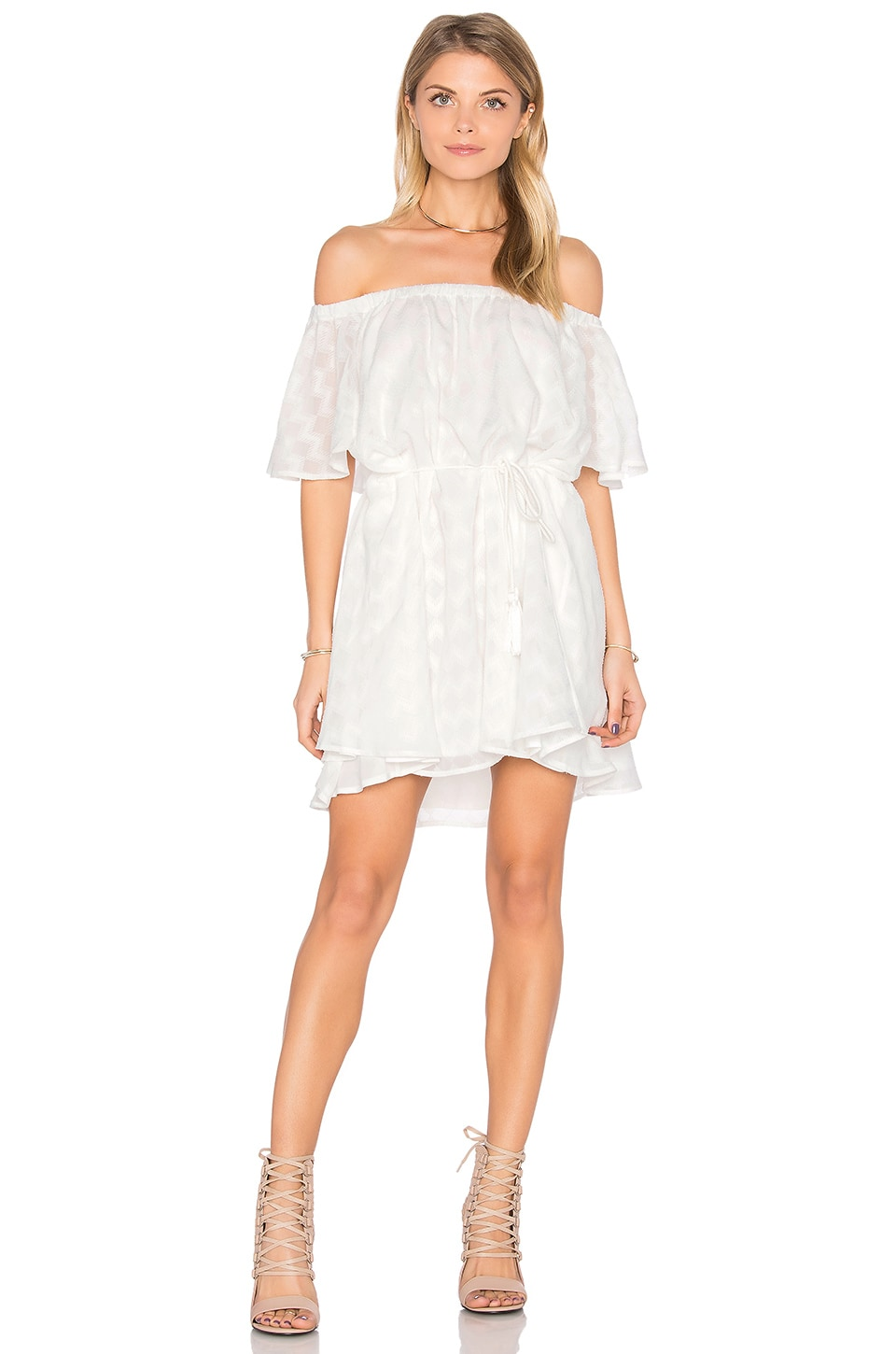 Ascot Ruffle Dress by Finders Keepers