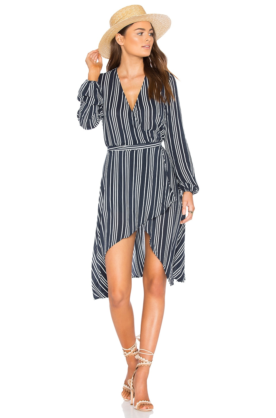 Ira Wrap Dress by Finders Keepers