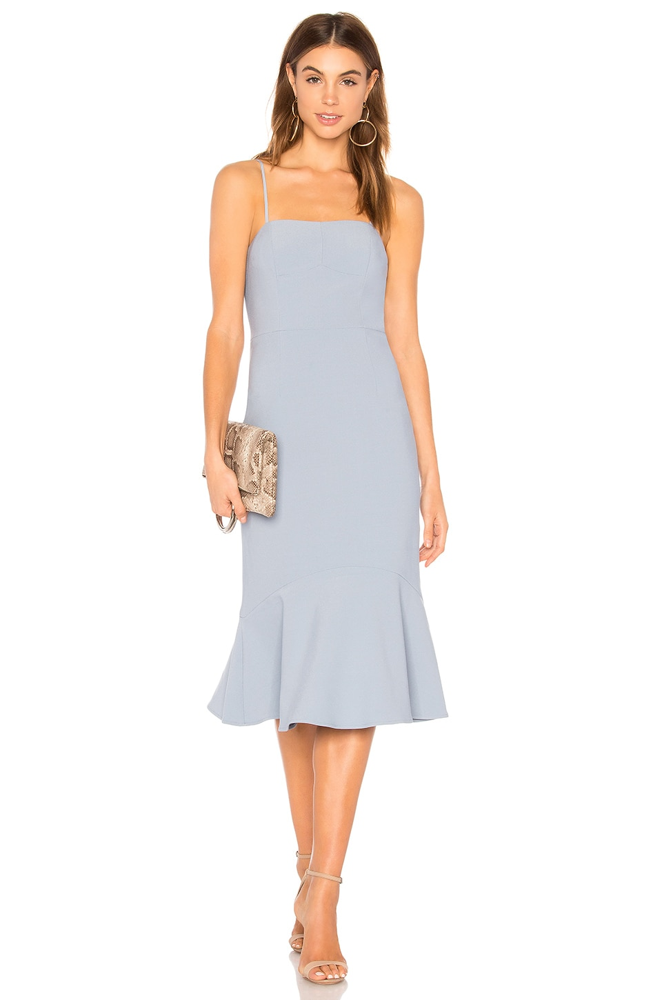 Finders Keepers Continuum Midi Dress in Laguna