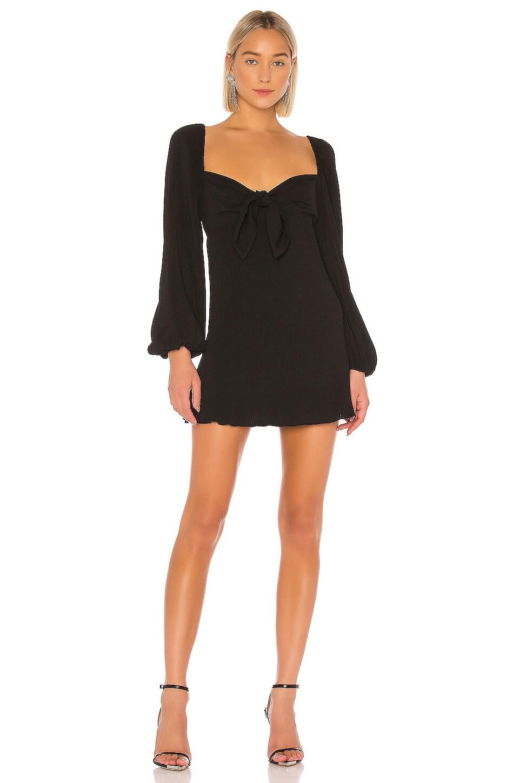 Finders Keepers Adeline Mini Dress in Black