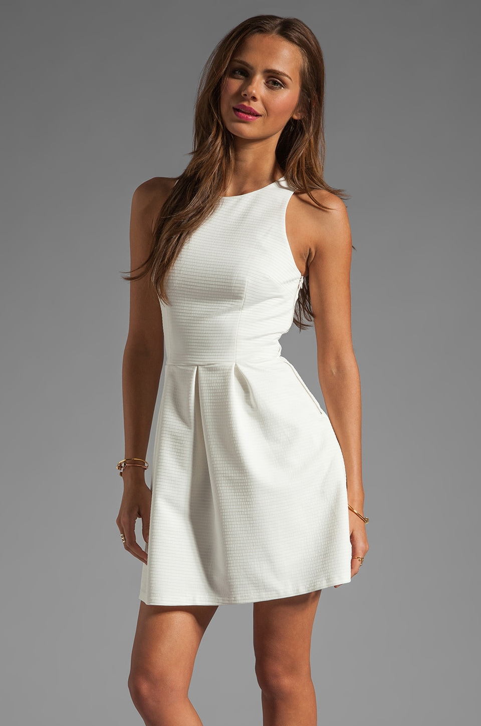 Finders Keepers Distant Dreamer Dress in White