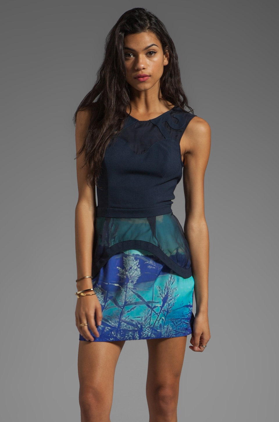 Finders Keepers Lost for Words Dress in Lake Tahoe Dress